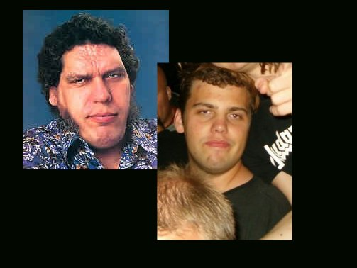 Hasse Bjuhr = André The Giant