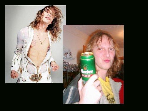 Fredrik Nilsson = Justin Hawkins?