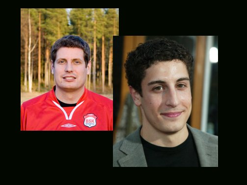 Robert Larsson = Jason Biggs?