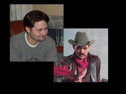 Johan Larsson är cowboy i Village People??